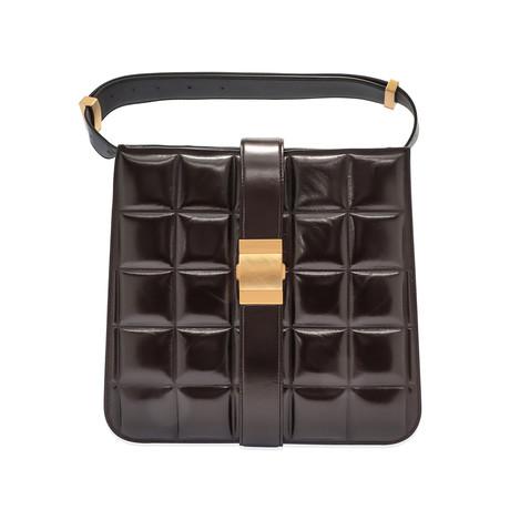 Bottega Veneta // Women's Padded Marie Bag // Dark Brown