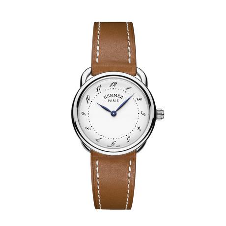 Hermes Ladies Arceau Quartz // AR5.210.130/VB34-I // Store Display
