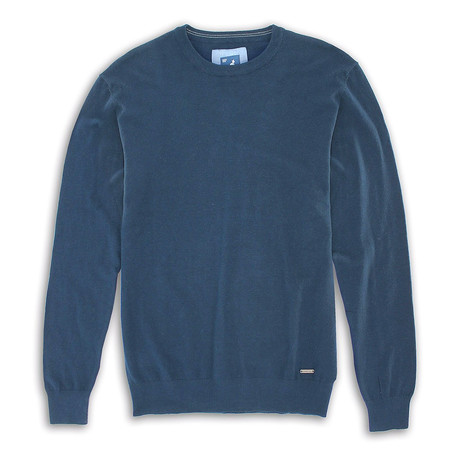 Premium Super Soft 12 Gauge Sweater // Navy (S)
