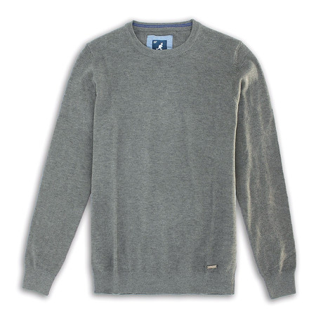 Premium Super Soft 12 Gauge Sweater // Charcoal (S)
