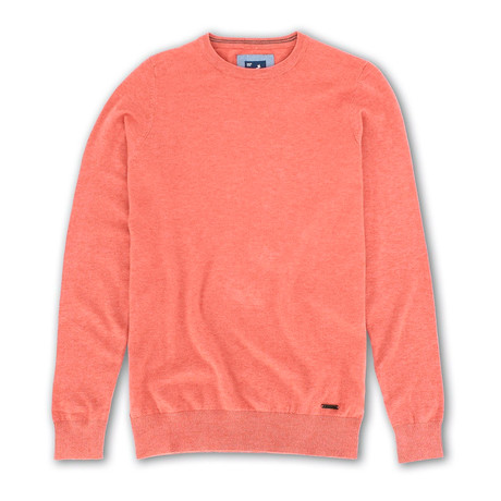 Premium Super Soft 12 Gauge Sweater // Salmon (S)