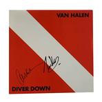 Eddie And Alex Van Halen // Autographed Vinyl Record Album