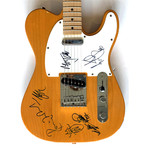 The Rolling Stones // Autographed Fender Guitar