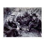Allman Brothers Band // Autographed Photograph