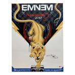 Eminem // Autographed Concert Poster