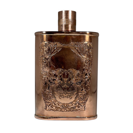 Skull Couture Flask