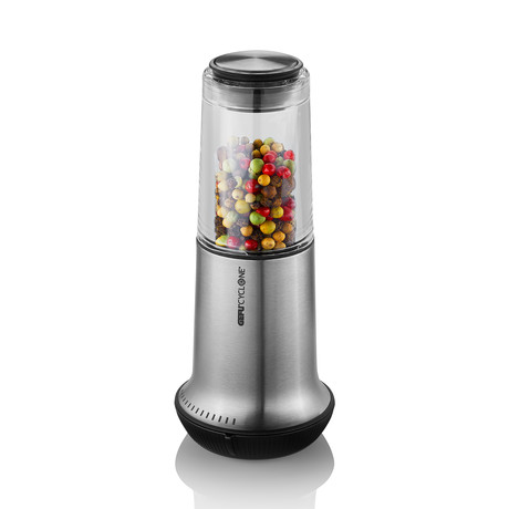X-PLOSION Salt + Pepper Mill // Stainless Steel (Small)