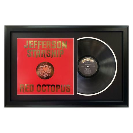 Jefferson Starship // Red Octopus (White Mat)