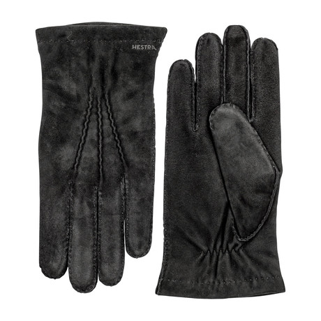 Arthur Leather Gloves // Black (Size: 7)