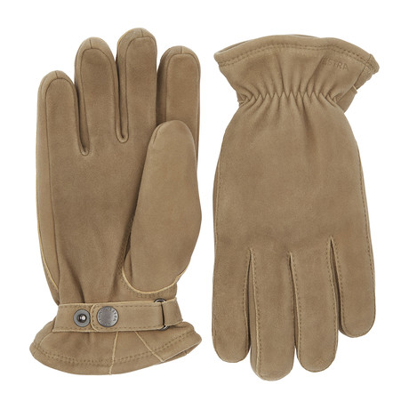 Torgil Leather Gloves // Natural Gray (Size: 8)