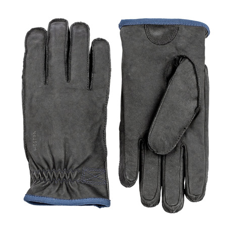 Tived Leather Work Gloves // Black (Size: 7)