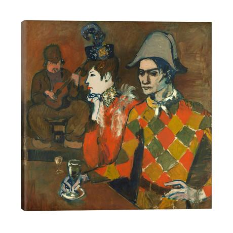 """Au Lapin Agile // Pablo Picasso (26""""W x 26""""H x 1.5""""D)"""