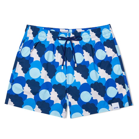 Bubblegum X Olimpia Zagnoli Classic Swim Shorts V2 // Blue (Small)