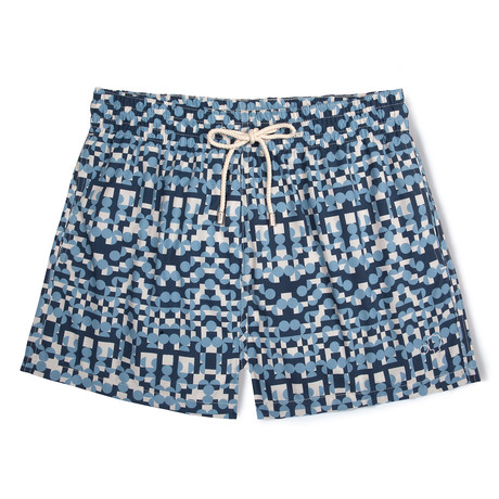 Tribe X Damien Poulain Classic Swim Shorts // Blue (Small)