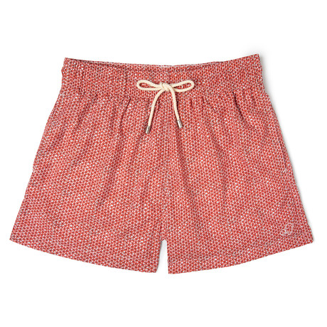 Net X Lagranja Classic Swim Shorts // Red (Small)