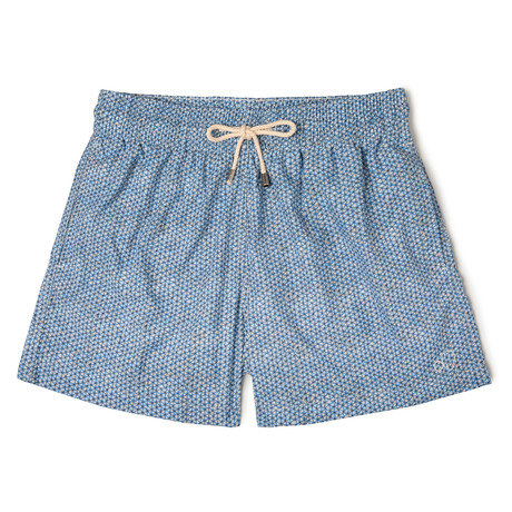 Net X Lagranja Classic Swim Shorts // Light Blue (Small)