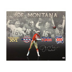 Joe Montana San Francisco 49ers // Perfect // Autographed Canvas