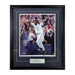 Joe Carter // Autographed Toronto Blue Jays Framed Photo
