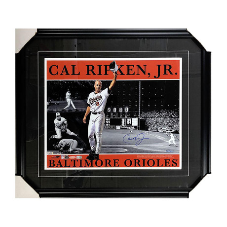 Cal Ripken Jr. // Framed Autographed Limited Edition Photo
