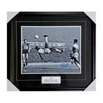 Pelé // Framed Autographed Photo