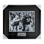Franco Harris // Pittsburgh Steelers // Framed Autographed Photo