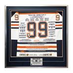 Wayne Gretzky // Edmonton Oilers // Autographed Career Jersey // #1 of 99