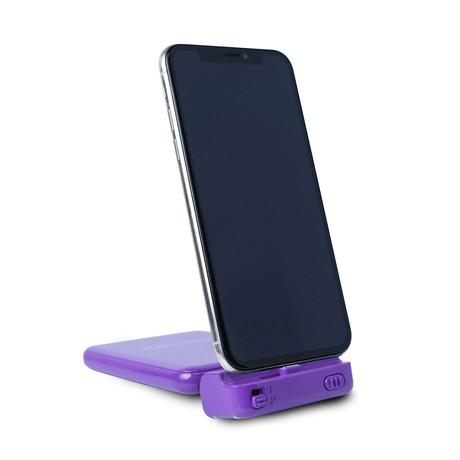 RC Hinge // Purple (Apple Lightning)