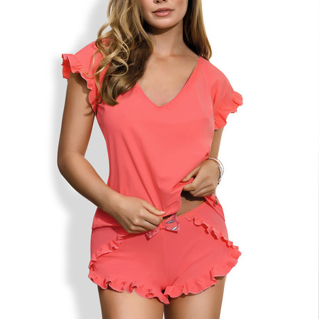 Ray Of Light Nightset Top // Flaming (S)