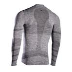 Iron-Ic // Long Sleeve T-Shirt // Gray (XXL)