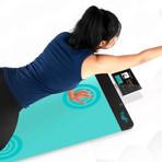 YogiFi Smart Yoga Mat (Purple - Purity)