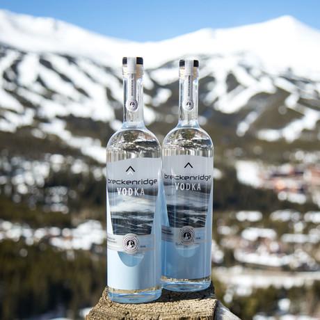 Breckenridge Vodka // Set of 2 // 750 ml Each