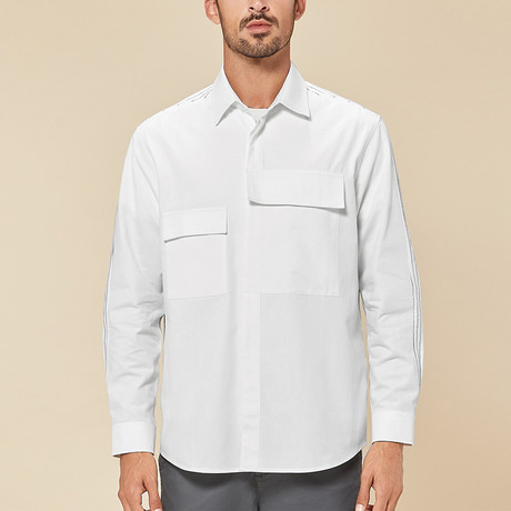 Alden Shirt // White (Medium)
