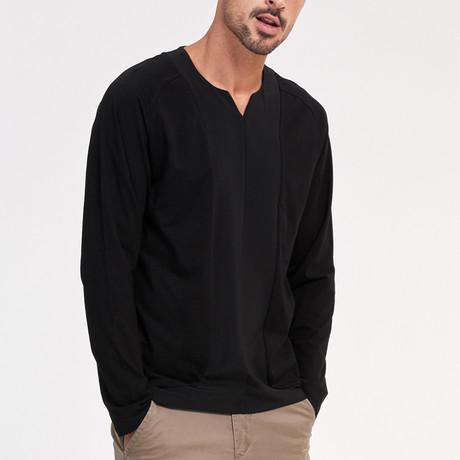 Austin Long Sleeve Tee // Black (Medium)
