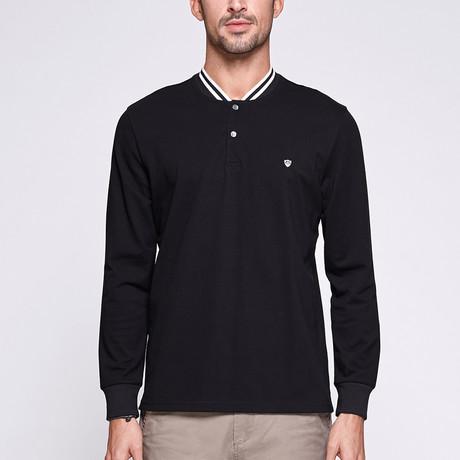 Darion Polo Shirt // Black (Medium)