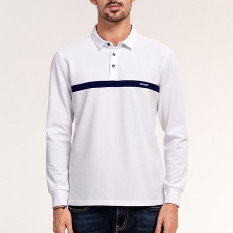 Kolby Polo Shirt // White (Medium)