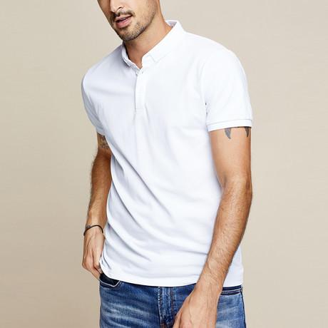 Leland Polo Shirt // White (Small)