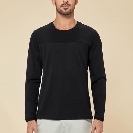 Anderson Long Sleeve Tee // Black (Medium)