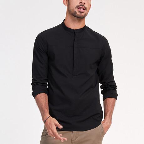 Nolan Shirt // Black (Medium)