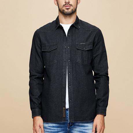 Sidney Shirt // Black (Medium)