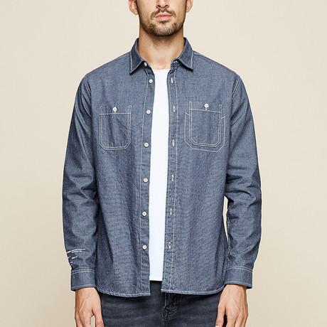 Taylor Shirt // Blue (Medium)