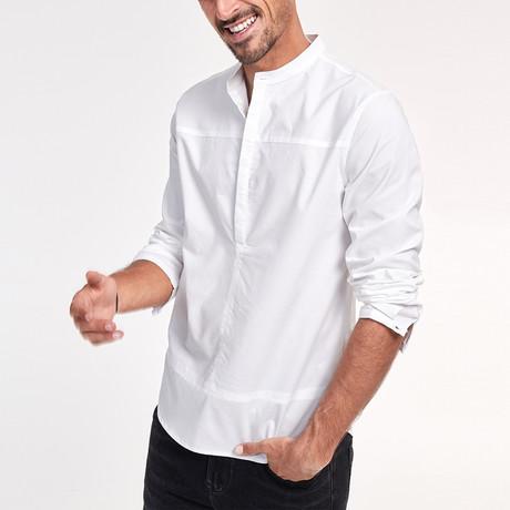 Nolan Shirt // White (Medium)