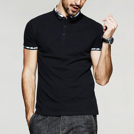 Gage Polo Shirt // Black (Medium)