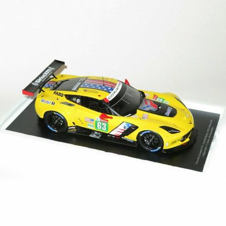 1/18 Chevrolet Corvette C7.R - #63 Corvette Racing 24H Le Mans 2019 - J. Magnussen - A. García - M. Rockenfeller