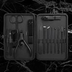 Manicure Set // 15 Pieces (Black)