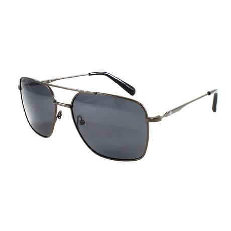 Men's  Polarized Sunglasses // Gray + Gunmetal
