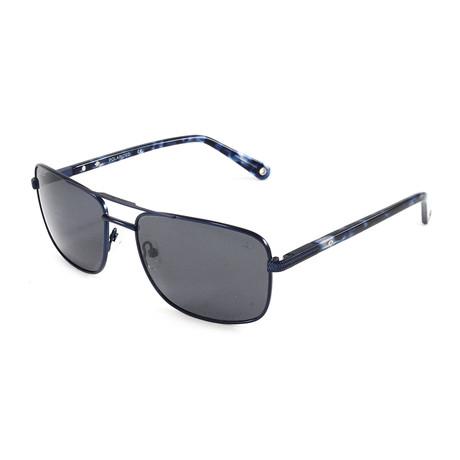 Men's Jamestown Polarized Sunglasses // Navy Blue