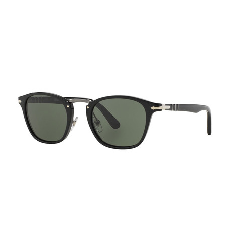 Men's 3110 Sunglasses // Black + Green