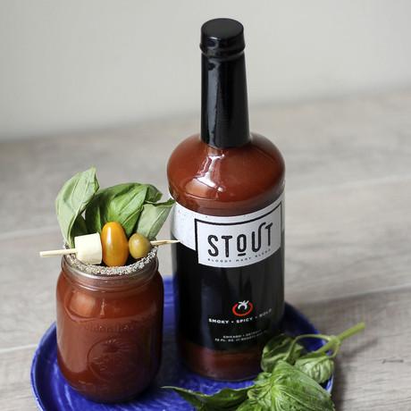 Stout Bloody Mary Mix + Rim Salt Blend // Set of 2 // 750 ml Each