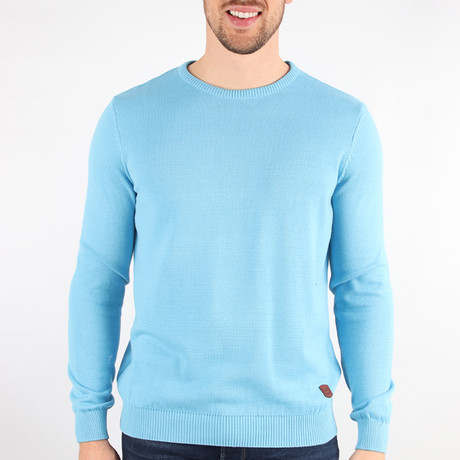 Big Sky Sweater // Light Blue (Medium)