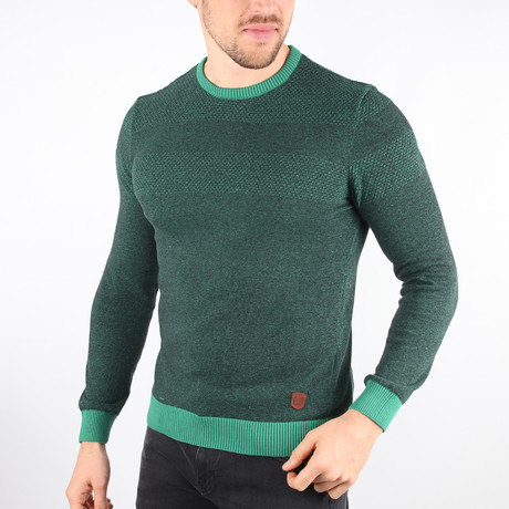 Kalispell Sweater // Green (Medium)